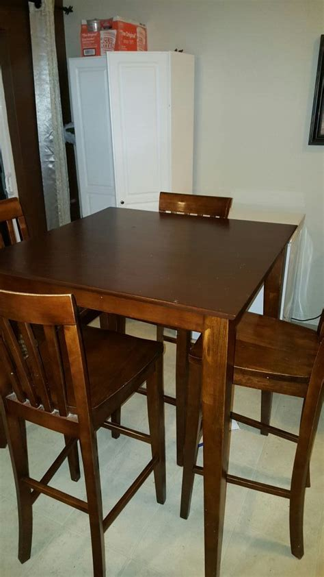 Pub Style Dining Room Tables Pub Style Dining Room Table Set With 4 Chairs Furniture In Renton Wa Offerup