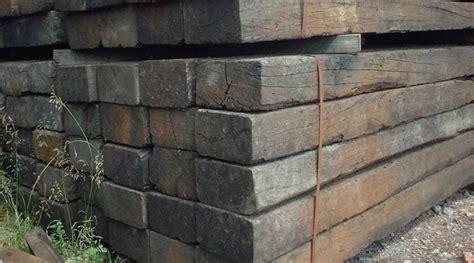 building  retaining wall  railway sleepers