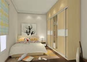 Wallpaper Livingroom concept bedroom interior design 3d house