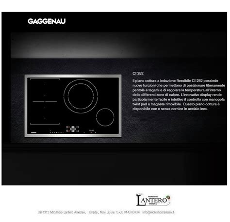 gaggenau piani cottura elettrodomestico gaggenau piano cottura induzione nuova