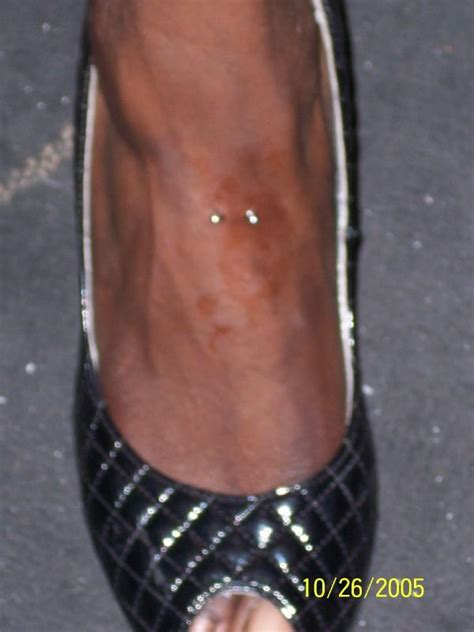 lips tattoo on foot featured content on myspace