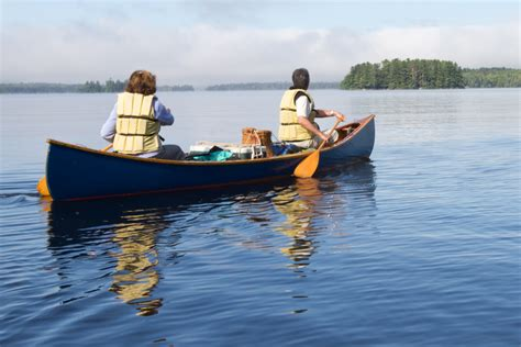 Handcrafted Canoes - mahoosuc guide service canoeing visit mainevisit maine