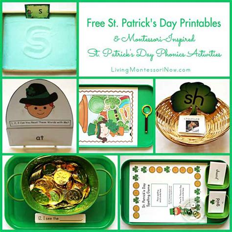 montessori printable st game free st patrick s day printables and montessori inspired