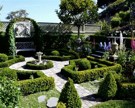 Formal Garden Layout Formal Garden