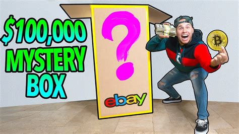 ebay mystery box 100 000 mystery box from ebay you won t believe this