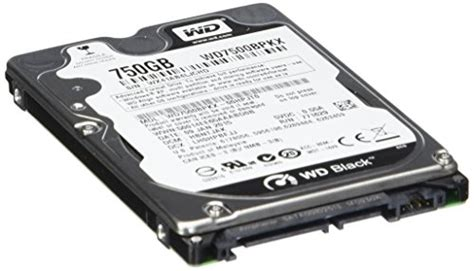 Hardisk Notebook western digital wd7500bpkx 750 gb wd black sata iii