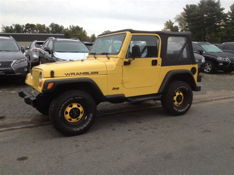 2001 Jeep Wrangler Value Used 2001 Jeep Wrangler For Sale Carsforsale