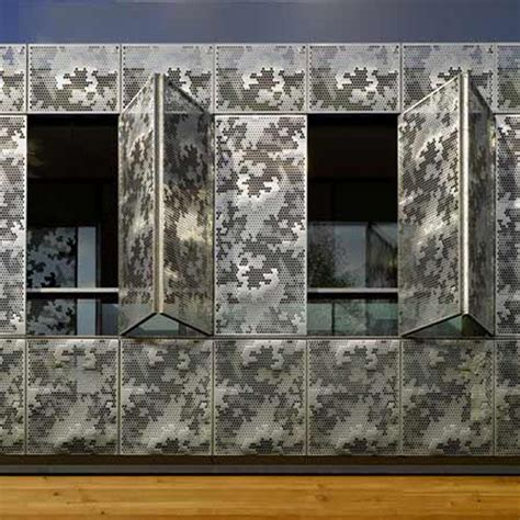 london pattern metal works 17 best images about facade perforated metal cladding on