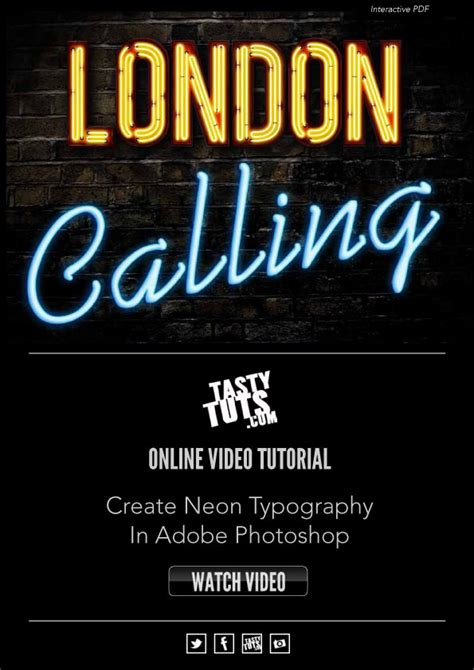 photoshop typography tutorial download neon typography photoshop tutorial by tastytuts on deviantart