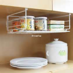 Wire Shelves For Kitchen Cabinets 2017 Cheap Wholesale Shelf Wire Rack Storage Organizer Kitchen Cabinet Spice Boxes Jars