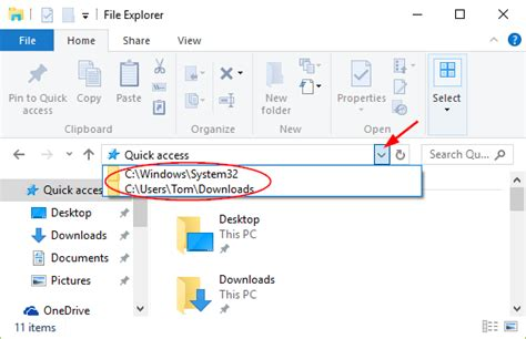 Explorer Search From Address Bar How To Delete File Explorer Address Bar History In Windows 10 8 7 Password Recovery