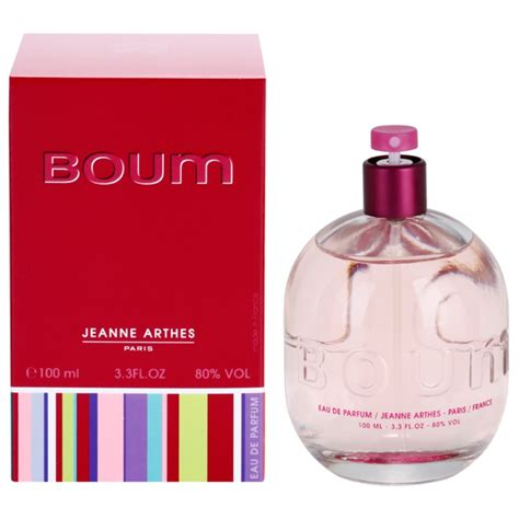 Jeanne Arthes Boum 100ml jeanne arthes boum eau de parfum pour femme 100 ml