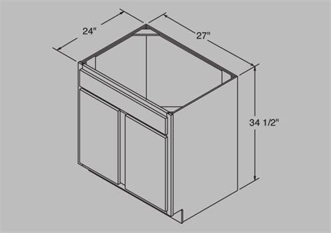 27 sink base cabinet lesscare gt kitchen gt cabinetry gt richmond gt lcsb27rc