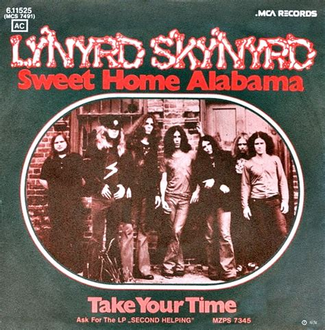 lynyrd skynyrd sweet home alabama album