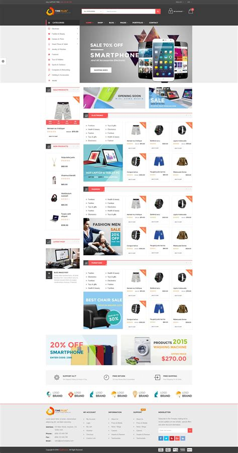 woocommerce theme listview timeplus mega store responsive woocommerce theme by