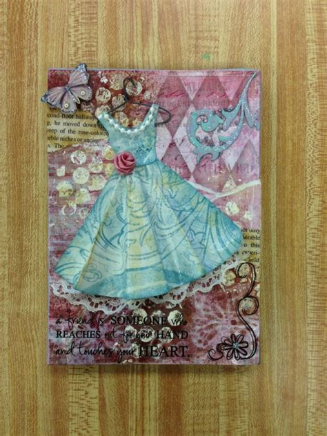 Decoupage On Canvas - canvas decoupage project make me something sweet crafts