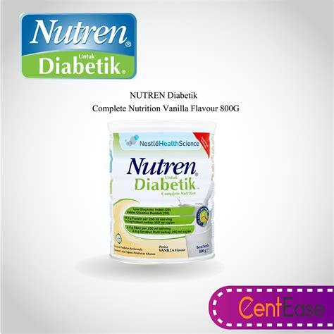 Nutren Optimum Vanilla 400g nutren diabetes malaysia
