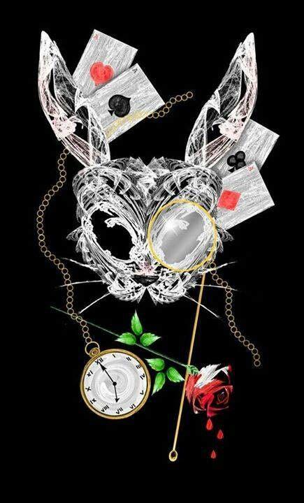 underland tattoo gallery dark art dark alice white rabbit wonderland underland