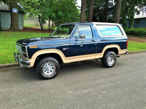 vehicle repair manual 1989 ford bronco electronic throttle control 1985 ford bronco eddie bauer 4x4