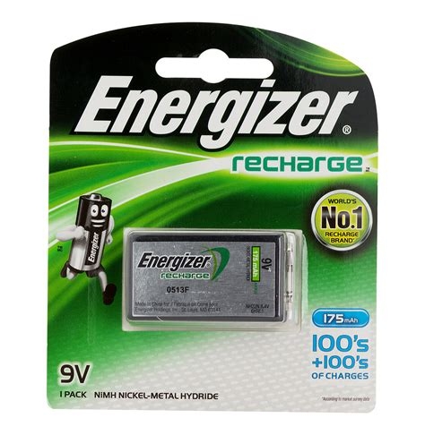 Baterai Rechargeable energizer 9v rechargeable battery lowest prices