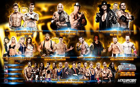 Wallpaper Custom Promo 27 the new road to wrestlemania 28 wrestlemania 28