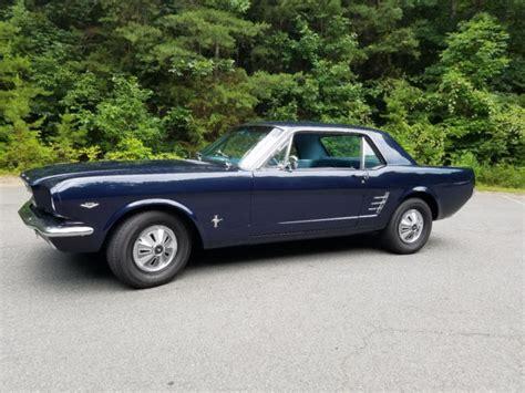 Upholstery Arlington Va 1966 Mustang V8 At Ms 5 0 Roller Motor No Rust
