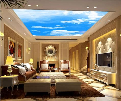 Custom Ceiling Designs by 60 Fantastic Living Room Ceiling Ideas