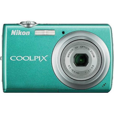 Nikon S220 nikon coolpix s220 digital aqua green 26147 b h photo