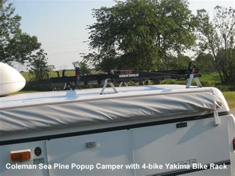 Coleman Bike Rack by Rv Net Open Roads Forum How To Put Kayak On Top Of Tc