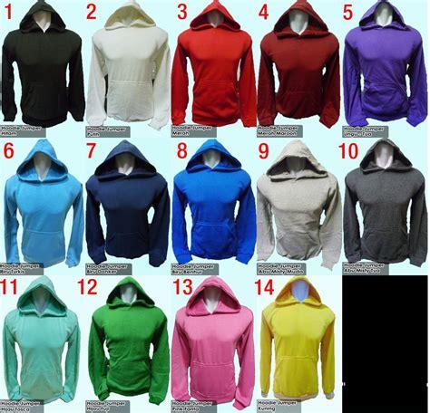 Baju Jaket Hoodie Zipper 19 jaket hoodie keren polos 3 variasi motif