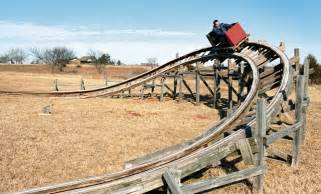 home made wood roller coaster hacked gadgets diy tech