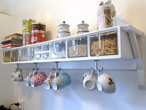 How To Decorate A Coffee Mug Reuse Retro Kitchen Shelf Handcraft By Grip