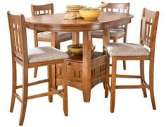 slumberland counter height table chairs products and table and chairs on
