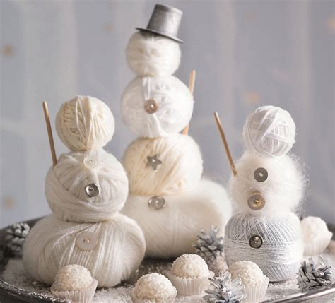 home decor ornaments white christmas ideas sweet creative home decorations