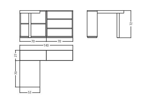 scrivania misure misure scrivania letti a cityline with misure