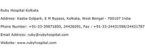 Kolkata Address Finder Ruby Hospital Kolkata Address Contact Number Of Ruby Hospital Kolkata