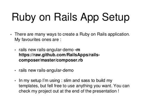 Ruby On Rails Angularjs Twitter Bootstrap Ruby On Rails Templates Free