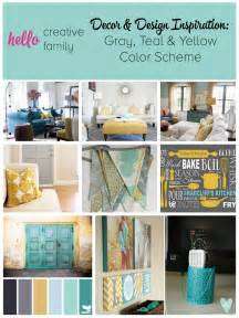 Gardening Craft Ideas - gray teal and yellow color scheme decor inspiration