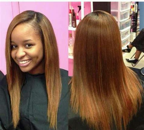straight sew in hairstyles malaysian straight 14 quot and 16 quot celebrity sew in