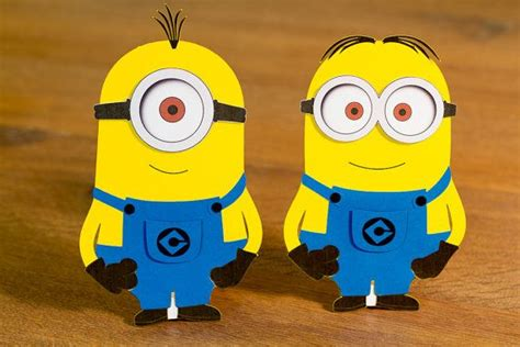 minions table decoration set of 4 by