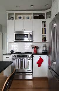 wonderful Do You Tile Under Kitchen Cabinets #8: open-cabinetry-amp-trim-added-above-existing-cabinets-to-take-them-to-the-ceiling.jpg