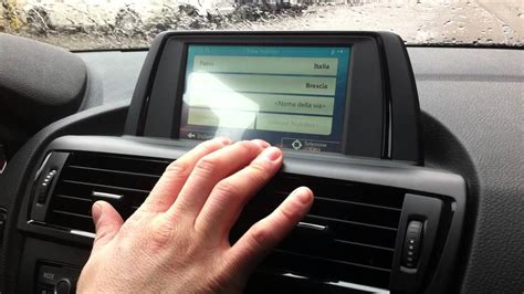 Bmw 1er F20 Navi Business by Bmw 1 F20 Navigatore Touch Screen Youtube