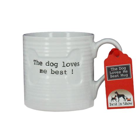 top pet gifts the dog loves me best mug gift for dog lovers and dog owne