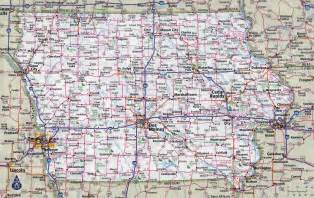 iowa road conditions color map image gallery iowa road map