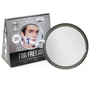 no fog shower mirror with rotating locking suction bonus