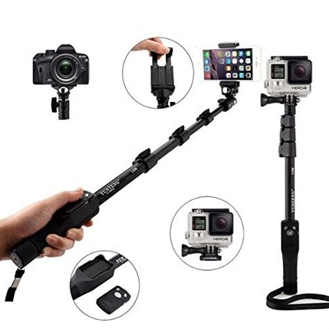 Tongsis Kamera Canon yunteng tongsis wireless bluetooth monopod yt 1288 oem black jakartanotebook