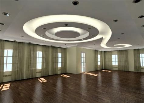 Gypsum Ceiling Design For Living Room 4 Curved Gypsum Ceiling Designs For Living Room 2015