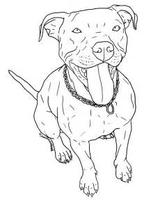 pitbull coloring pages free pit bull line 5 by wolfie undead on deviantart