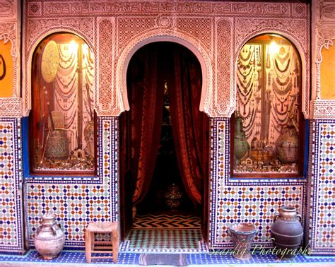 moroccan decor marrakesh morocco door photo print colorful