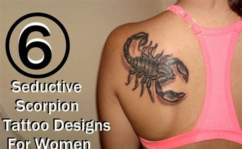 seductive tattoo designs best 25 scorpion tattoos ideas on scorpio